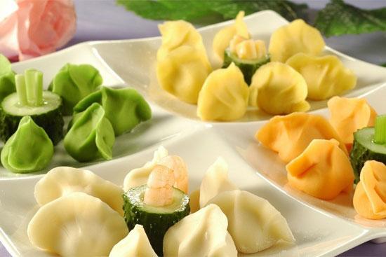 冬至美味聚餐 饺子皮的创意做法