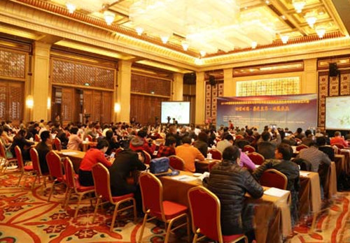 中国木材与木制品流通协会板材分会成立