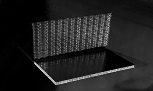 EconCore使用杜邦聚合物制造蜂窝板材