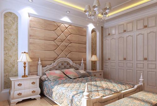 欧式衣柜装修效果图 洋溢浪漫欧式风情