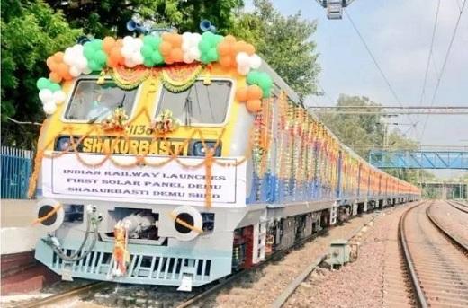 【好拾快讯】印度的第一辆太阳能火车终面世,美国网友开启疯狂吐槽模式