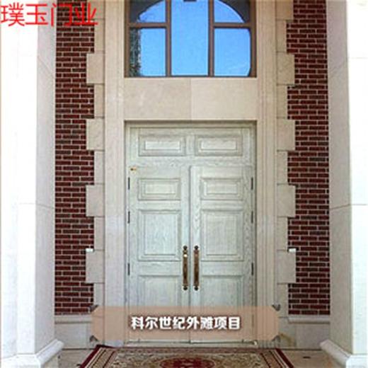 【好拾门窗荟】上海璞玉门业高端原木定制品味美丽人生