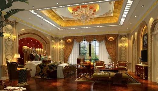 奢华居室,没有艺术涂装肯定美中不足!