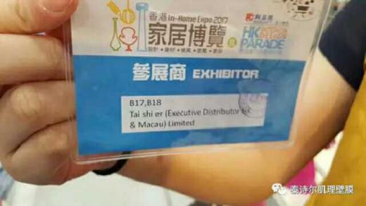 泰诗尔艺术涂料香港家居博览会精彩回顾