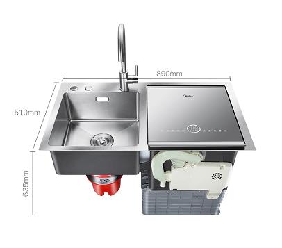 关于洗碗这件事,美的水槽洗碗机F4有话说!