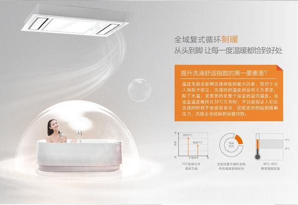 浴霸如何选购?不同种类的浴霸适用不同浴室环境!