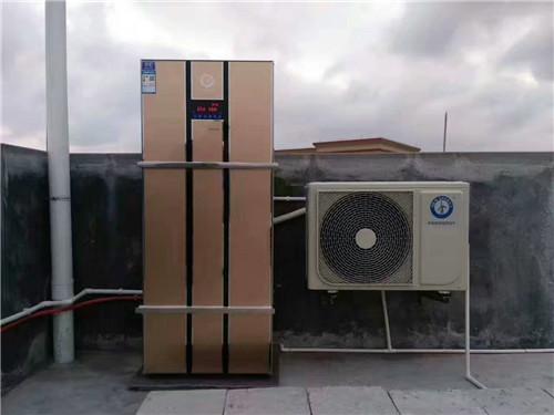 用纽恩泰空气能热水器,24小时热水无限供
