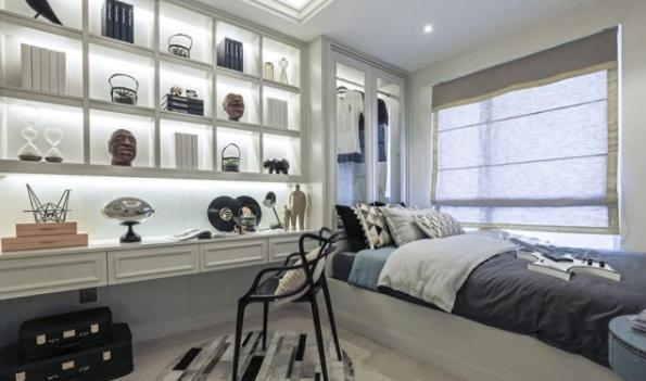 洛氏路全屋定制:时尚唯美现代简欧风,这才是家的正确打开方式