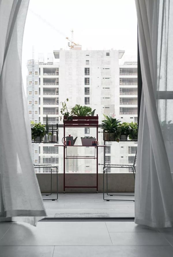 阳台装集成吊顶和晾衣架怎么这么完美!