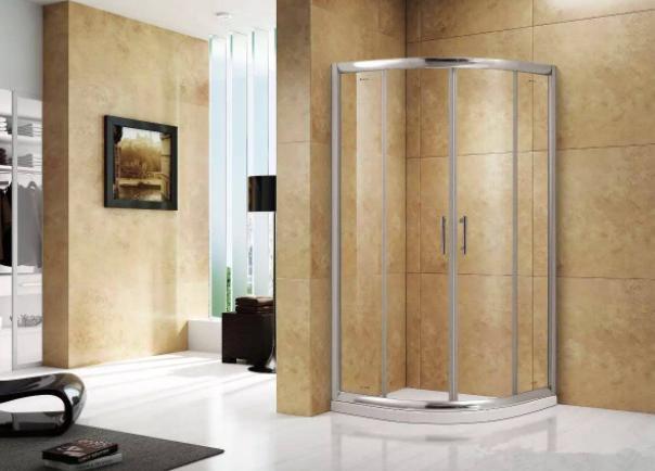 越来越多人这样装淋浴房,太实用了,真想回家砸了重装