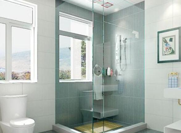 卫生间淋浴房怎么装?从4方面去选择材料,实用更方便