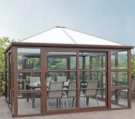 系统阳光房按这样配置,就算夏天住人也舒适!