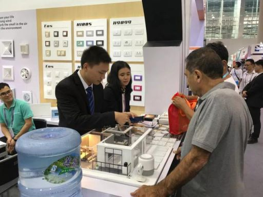 广交会丨向世界亮出福田电工品牌
