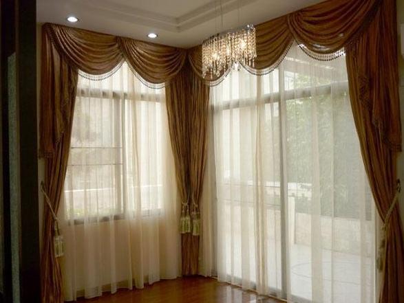 客厅不同窗户得选合适的窗帘,您知道吗