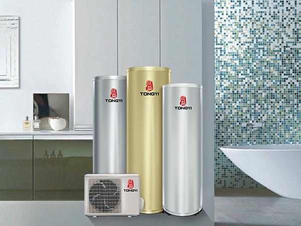 空气能热水器在家舒适泡温泉的愿望?同益空气能华美星+系列告诉你