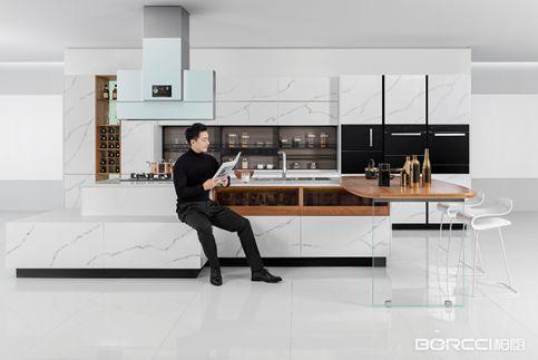在柏厨看厨房橱柜效果图从来都是艺术盛宴