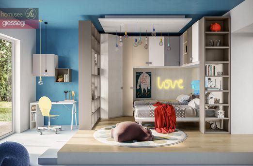 别再定制会过时的儿童房,来看看能用到结婚前的学习家具