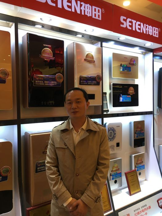 知名品牌 南京神田马斌阐述为什么会选择神田电热水器