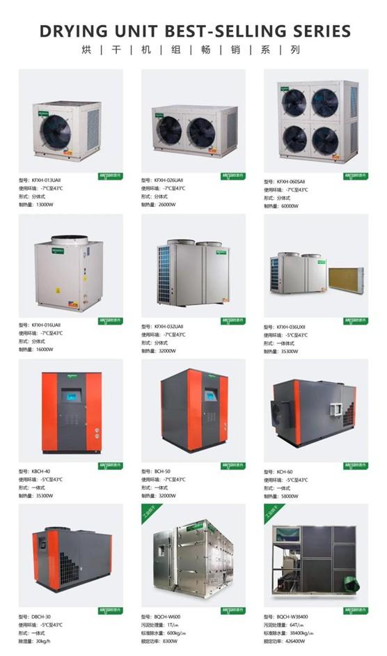 欧思丹空气源热泵 热泵烘干,预计万亿蓝海市场