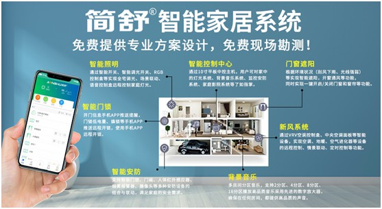 今日头条:温州首家简舒LORA全屋智能家居体验店火爆开业
