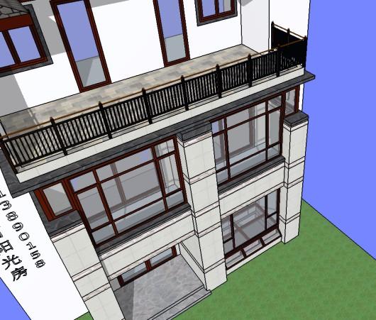 露台封完还多一个休闲露台,2021年洛阳别墅封阳光房都流行这样做