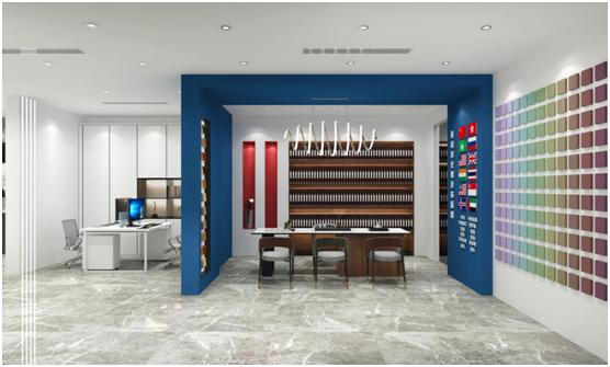 泰诗尔肌理壁膜:终端专卖店全新升级,焕发品牌活力